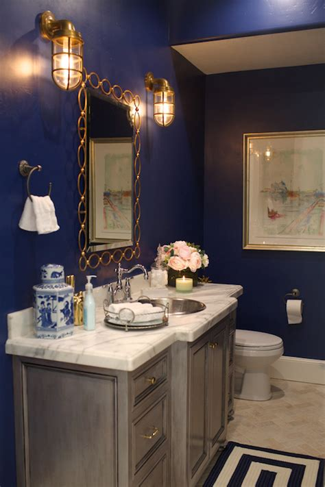 navy blue bathroom ideas navy blue bathroom vanity design ideas