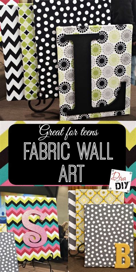 fabric crafts wall fabric crafts diy projects craft ideas how to s for home
