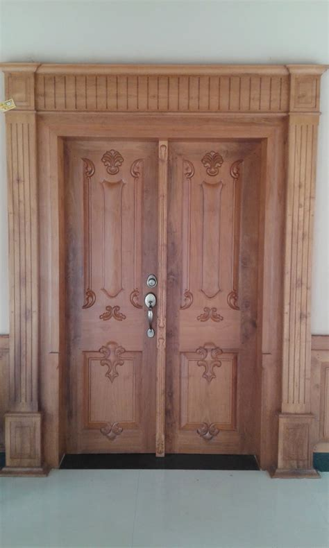 door designs for indian homes kerala style carpenter works and designs