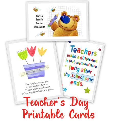 how to make itz card 20 awesome teachers day card ideas with free printables