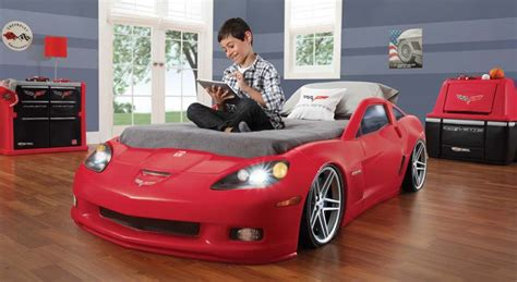 corvette bed new step2 corvette convertible toddler to bed w