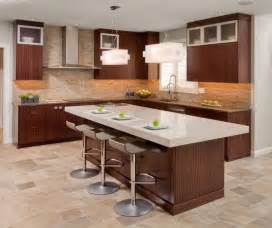 kitchen bars and islands contemporary kitchen design with functional brown kitchen