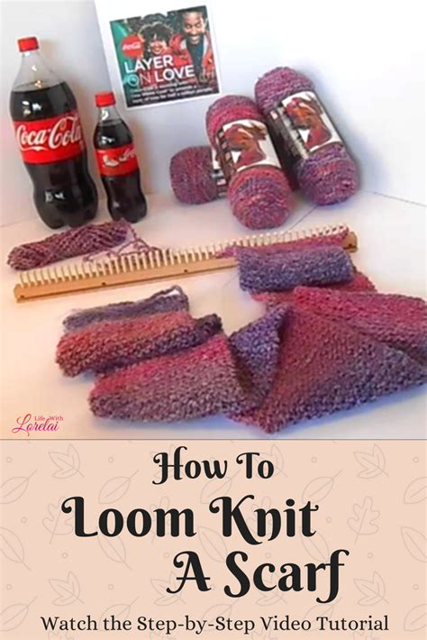 how to knit a scarf on a loom how to loom knit a scarf and layer on with lorelai
