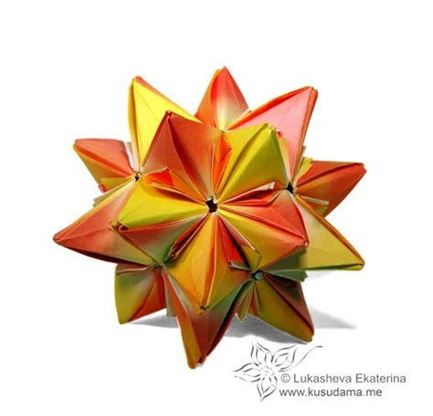 spiky origami pin by tracey wallace on modular origami