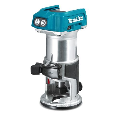 cordless routers woodworking makita 18v brushless trim router drt50z tool craze