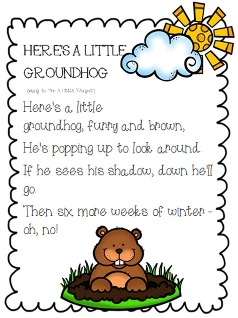 groundhog day song the 2 teaching divas happy groundhog s day