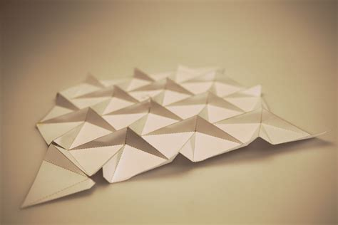 flat origami designs trokuti emotive environments research project on