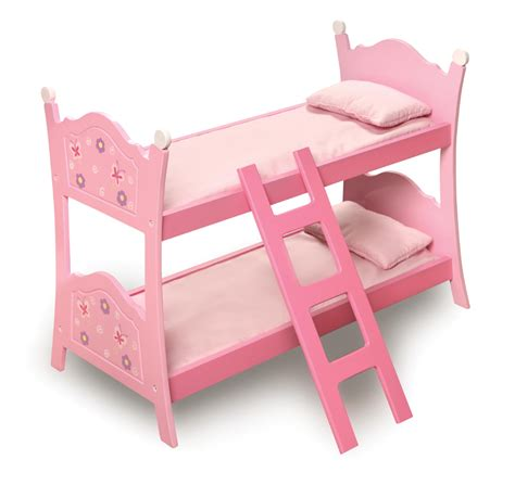 badger toys doll bunk beds badger basket blossoms and butterflies doll bunk beds with