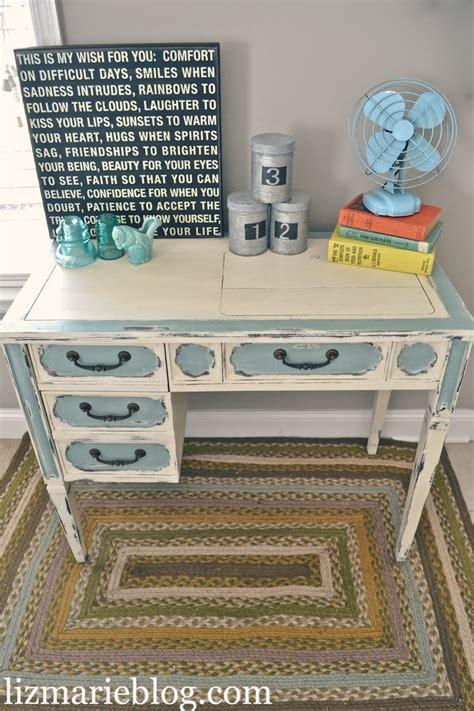 shabby chic desks shabby chic two toned desk