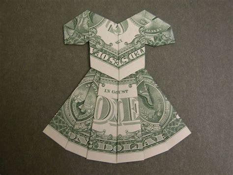 dollar bill origami dress best 25 origami dress ideas on cards diy