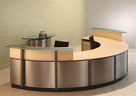 small receptionist desk semi circle reception desk reception desks stoneline
