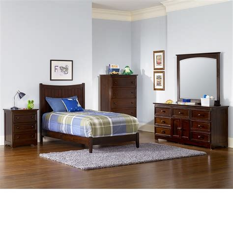 manhattan bedroom furniture dreamfurniture manhattan bedroom set walnut