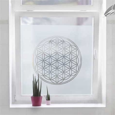 Sichtschutzfolie Fenster Lichtdurchlässig by Fensterfolie Sichtschutzfolie Blume Des Lebens
