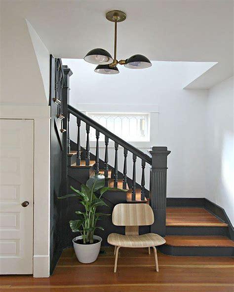 descente d escalier intrieur best escalier moderne u modles tournants ou droits de design