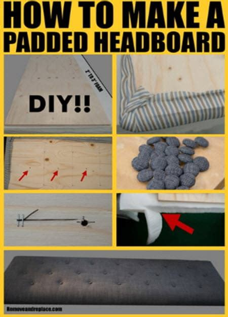 how to make headboard for bed how to make a padded headboard for a bed homestead