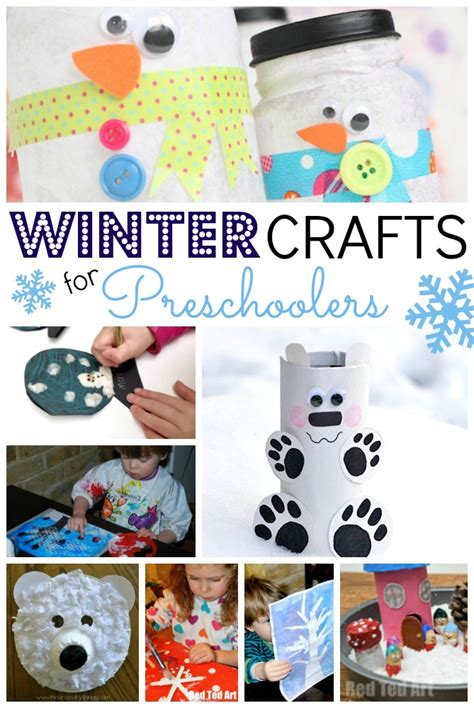 seasonal crafts for easy winter crafts for preschoolers ted s