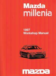 free online auto service manuals 1997 mazda millenia electronic throttle control 1997 mazda millenia factory workshop manual