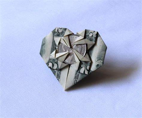 dollar bill origami dollar bill origami 8 steps with pictures