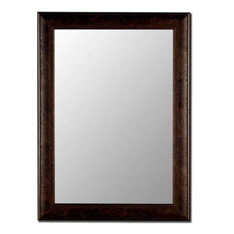 menards bathroom mirrors hitchcock butterfield rusticanna 18 quot x 36 quot copper