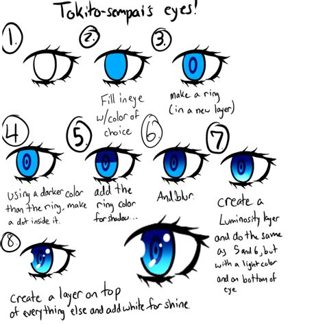 paint tool sai tutorial anime paint tool sai anime eye tutorial by tokito sempai on