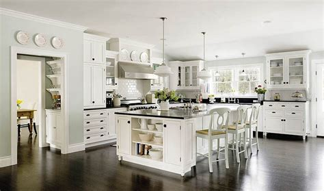 white kitchen with island white kitchens