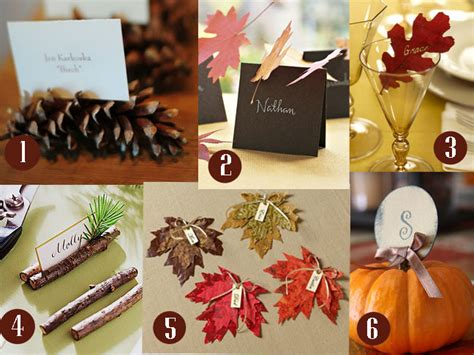 make place cards 15 easy to make place card ideas