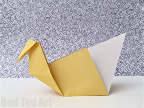 easy swan origami easy origami swan a great intro to origami ted