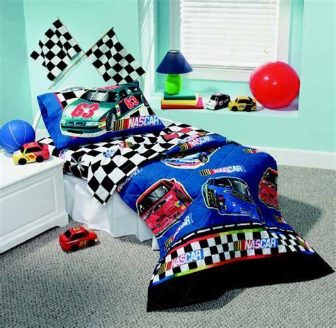nascar bedding set nascar checkered flag toddler 4 comforter sheet set