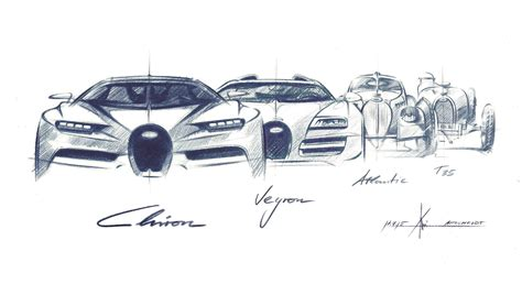 Bugatti Chiron Designer by Bugatti Chiron Sketch By Achim Anscheidt Car Designer S