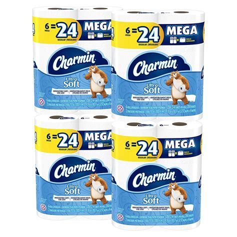 Toilet Paper 24 Pack Price by Charmin Ultra Soft Toilet Paper 24 Pack For 20 65