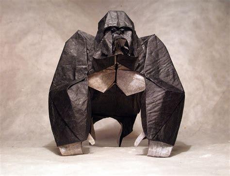 origami gorilla celebrate new year with 14 origami monkeys