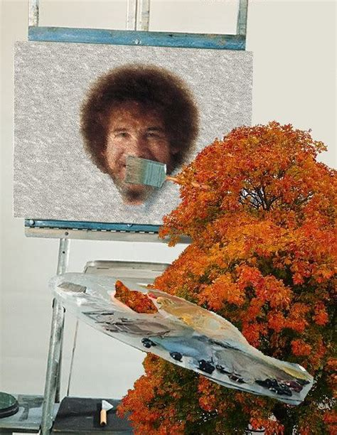 bob ross painting photoshop happy meta bob ross we awesome