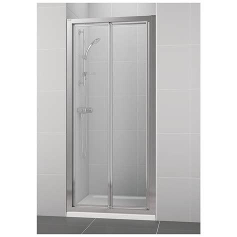 bi fold shower door 800mm product details l6646 800mm bifold shower door ideal