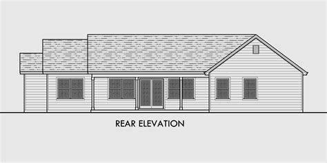 Single Level House Plans single level house plans one story house plans great