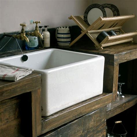 rustic kitchen sinks rustic dining the style files