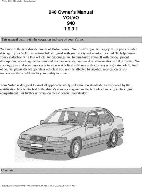 free car repair and service manual 2011 volvo c30 t5 service manual 1992 volvo 940 free manual download used 1992 volvo 940 photos 2300cc