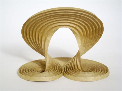 erik demaine origami waves 2009 curved crease sculpture by erik and martin