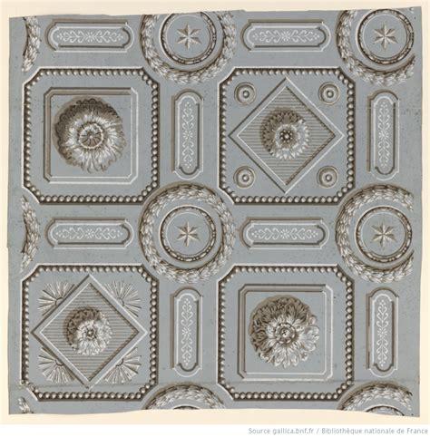 manufacture bon papier 224 motif r 233 p 233 titif motif r 233 p 233 titif de trompe l oeil de plafond sculpt 233