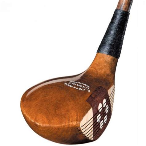 woodworking club hickory shaft persimmon woods