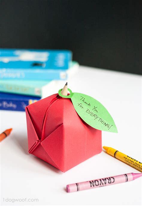 origami apple origami apple favor