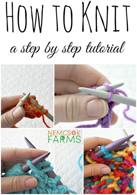 how to knit how to knit part 1 how to cast on nemcsok farms