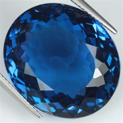 blue topaz blue topaz 22x16 mm oval cut aaa ebay