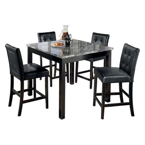 kitchen table counter counter height kitchen table with 4 chairs