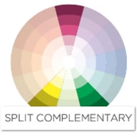 complementary color to pink color story decorating with pink split complementary
