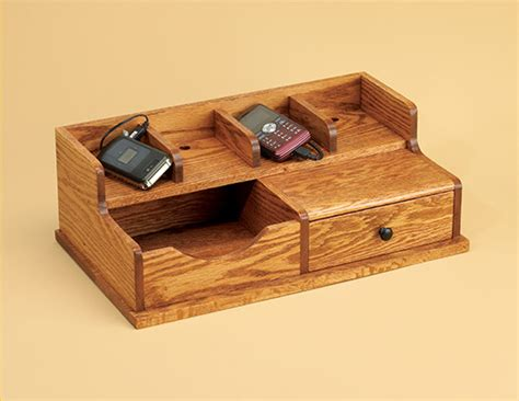 intermediate woodworking projects charging station