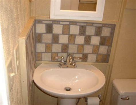 bathroom pedestal sink ideas pedestal sink backsplash ideas bathroom sink backsplash