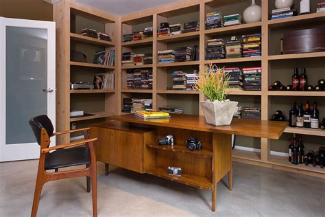 home design vintage modern the mid century modern home office