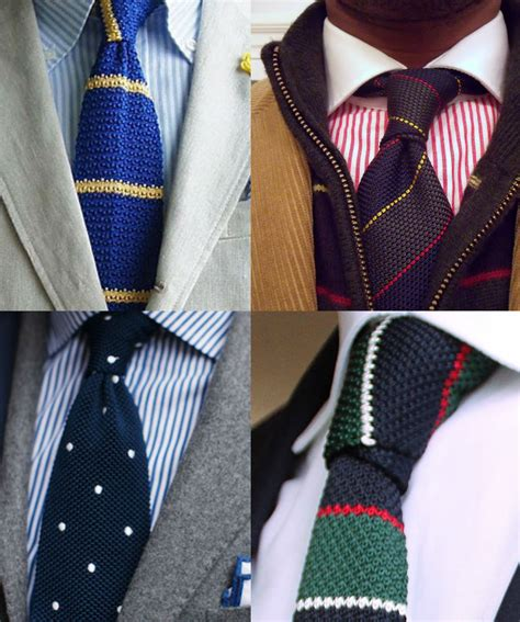 how to wear knit ties knitted ties for a royal and regal finish
