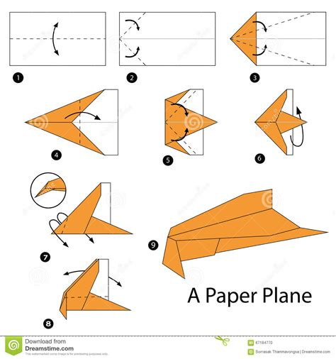 how to make an origami plane step by step how to make origami a plane