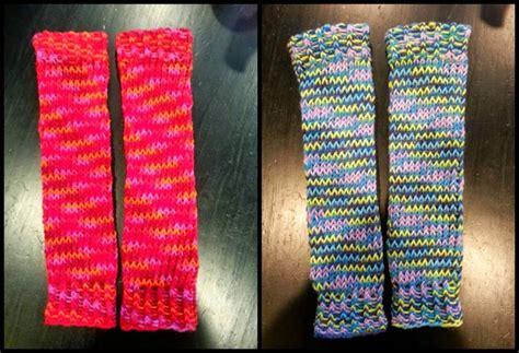 loom knit leg warmers looming exclusive designs small leg warmers all i need